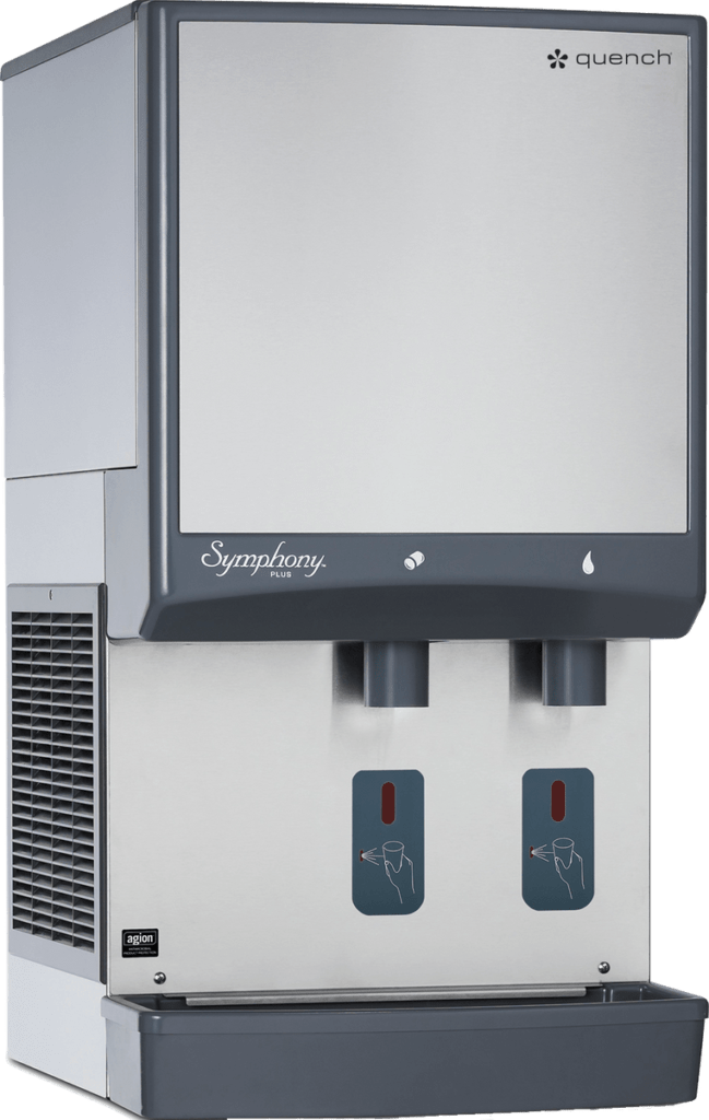Quench 980-50/985-50 countertop ice machine and water dispenser