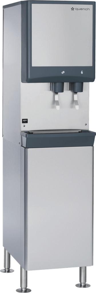 Quench 980 filtered water dispenser and ice machine