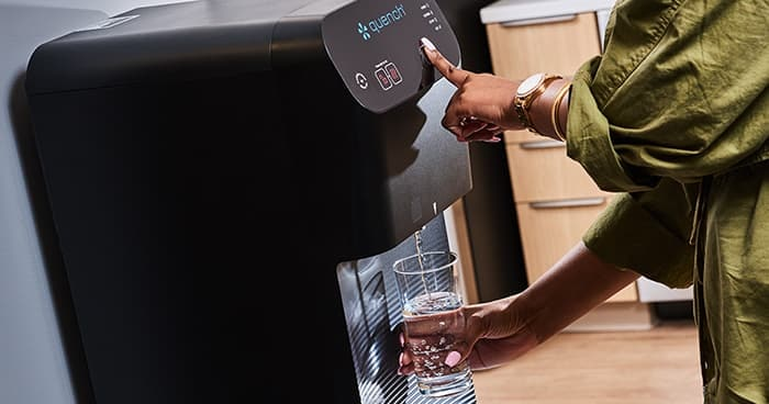 Quench Q7 Dispensing Filtered Water